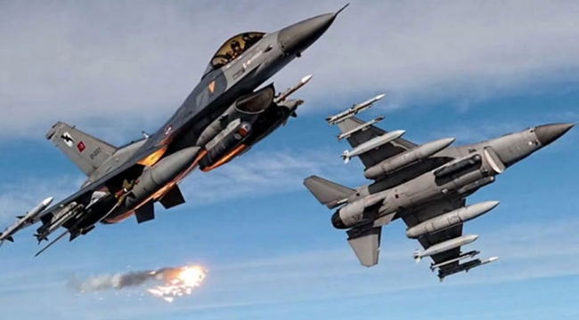 TSK Kuzey Irak'ı vurdu