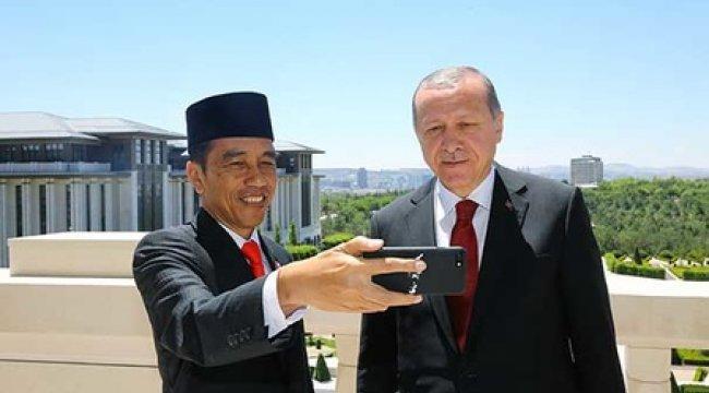 Endonezya Cumhurbaşkanı sosyal medyadan paylaştı