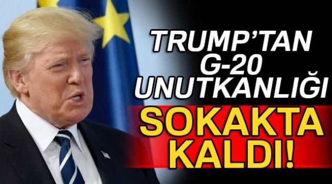 Trump, G-20 için otel rezervasyonu yaptırmayı unuttu