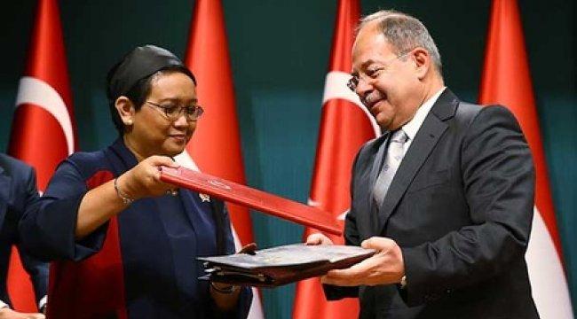 Türkiye ile Endonezya arasında iki anlaşma imzalandı
