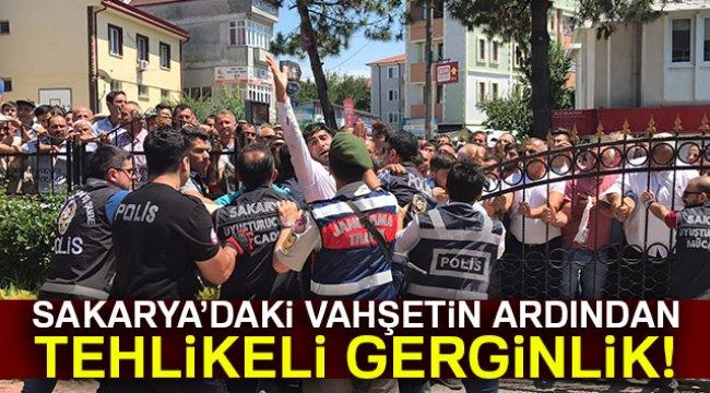 Yüzlerce vatandaş zanlılara saldırmak istedi