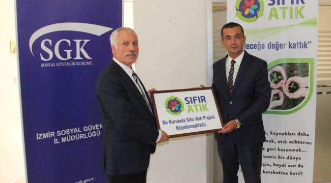 SGK İzmir, 'Sıfır atık' dedi