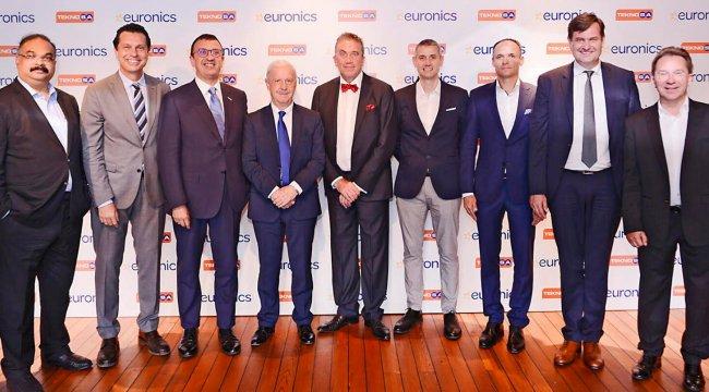 Teknosa, elektronik satın alma grubu Euronics'i İstanbul'da ağırladı