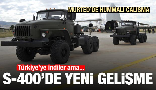 Türkiye'ye gelen S-400'lerde önce neyin kurulacağı belli oldu