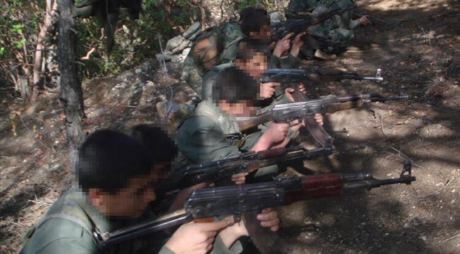 Terör örgütü YPG/PKK Suriye'nin kuzeyinde çocukları alıkoyuyor
