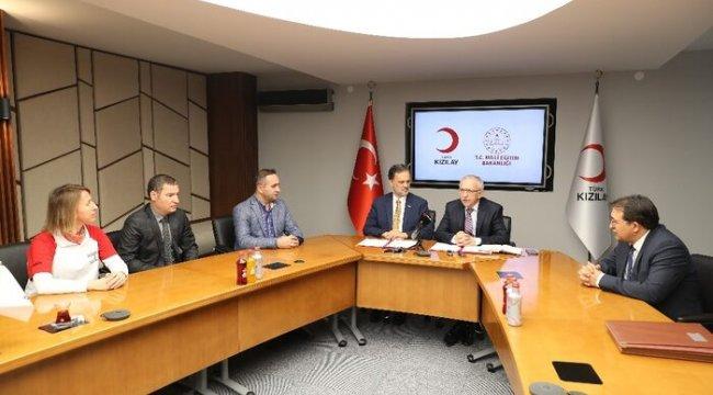 Türk Kızılayı ve MEB'den özel yetenekli öğrenciler için işbirliği