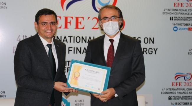 4. Uluslararası Ekonomi, Finas ve Enerji Kongresi başladı
