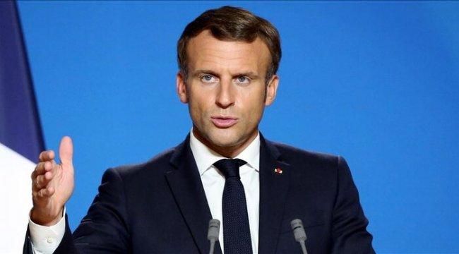 Macron, Ermenistan Cumhurbaşkanı Sarkisyan ile görüştü