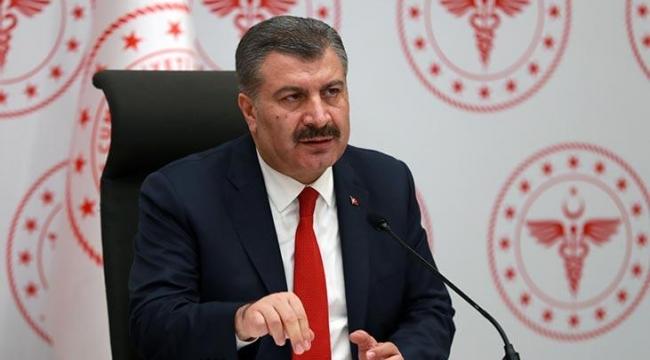 Sağlık Bakanı Fahrettin Koca koronavirüs tablosunu açıkladı: 'Artmaya devam ediyor'