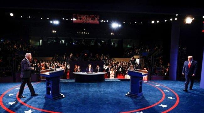 Trump ve Biden Seçimden Önce Son Kez Karşı Karşıya Geldi