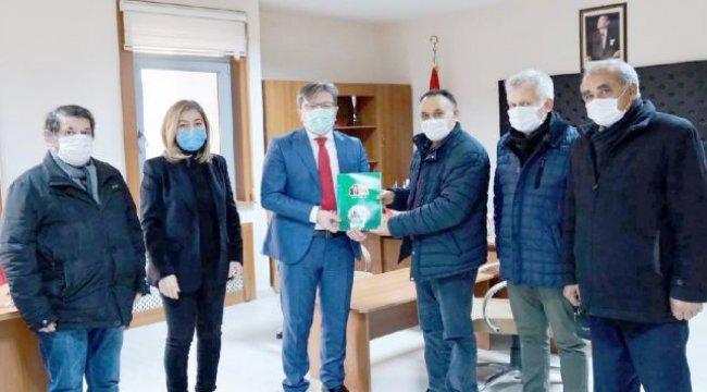 Aksaray'da Yeşil Doğa Derneği'nden nezaket ziyareti