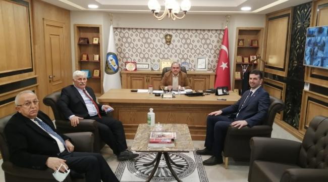 Erbaa'mızın, Esnaf Kurmayları Değerli Başkanlarımız Kooperatifimizi Ziyaret Etmiştir.
