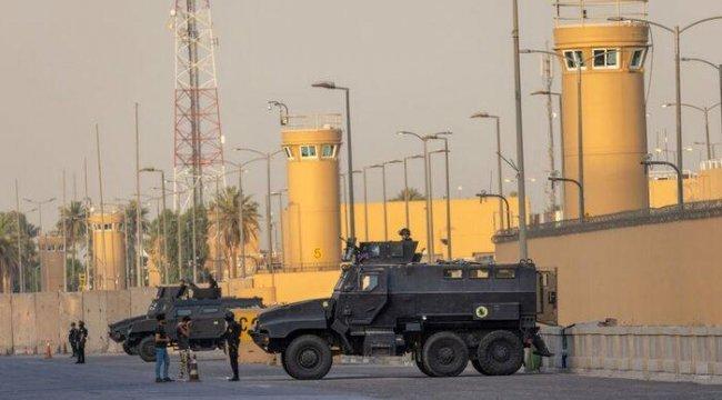 Bağdat'taki ABD Büyükelçiliği üzerinde uçan patlayıcı yüklü drone vurularak düşürüldü