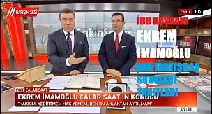 Ekrem İmamoğlu & İsmail Küçükkaya Çalar Saat Programı | CANLI 5 Nisan 2019